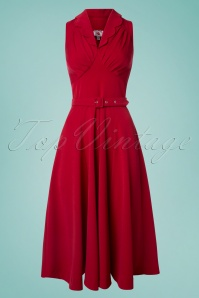 Miss Candyfloss Red Swing Dress 102 20 24181 20180508 0001W