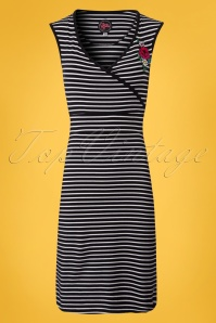Tante Betsy Summer Cross Striped Dress 106 14 23538 20180425 0001W