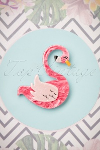 TopVintage exclusive ~ 50s Francie The Flamingo Brooch