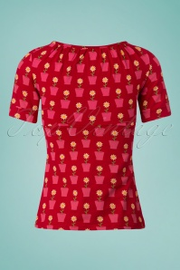 Tante Betsy Shirt Luna Daisy Red 111 27 23542 20180425 0004W