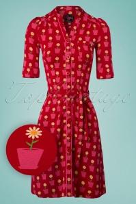 Tante Betsy Frieda Dress Daisy in Red 106 27 23540 20180425 0002W1