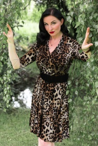 Vintage Chic Leopard Swing Dress 102 79 24668 20180307 0011W