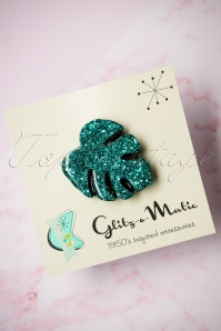 Glitz o Matic Green Brooch 340 39 24955 14052018 001W