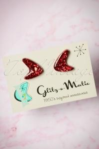 Glitz o Matic Red Earrings 330 27 24951 14052018 002W