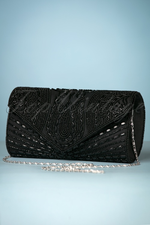 Gatsby Lady Black 20s Clutch 210 10 25195 20180516 0005w