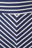 King Louie 60s Sailor Striped Navy Blue Skirt  107 39 13868 20150211 0007