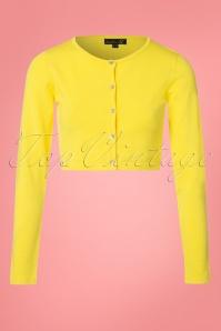 Smashed Lemon Cardigan in Yellow 140 80 23504 20180326 0001W