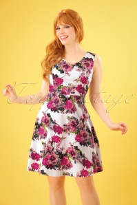 Smashed Lemon White and Pink Floral Dress 102 59 23512 20180321 0006W