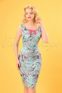 Banned Oriental Blossom Pencil Dress 100 39 24251 20180405 0004W