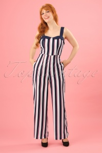 Dancing Days by Banned Striped Jumpsuit 133 59 24277 20180329 0008W