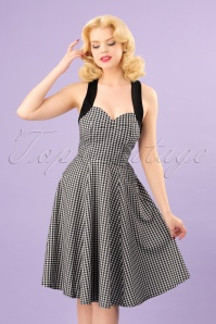 Dancing Days by Banned Summer Days Checkered Swing Dress 102 14 24297 20180320 00010W