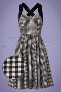 Dancing Days by Banned Summer Days Checkered Swing Dress 102 14 24297 20180320 0003W1