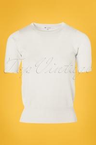 Mak Sweater White Sweater 113 22 24920 20180222 0009W