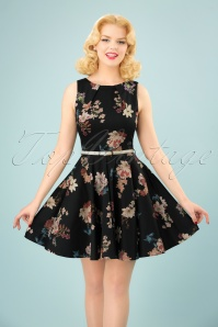 Closet London Floral Skater Dress 102 14 25649 20180329 0004W