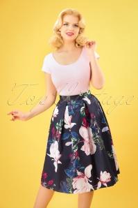 Closet London Pleated Skirt Floral Skirt 122 39 25652 20180405 0004W