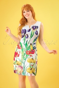 Smashed Lemon White Floral Dress 100 59 23516 20180321 0008W