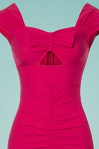 Stop Staring Hot Pink Bow Pencil Dress 100 22 24554 20180508 0008c