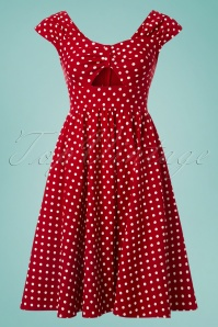 Stop Staring Red and White Polkadot Dress 102 27 24758 20180508 0001W