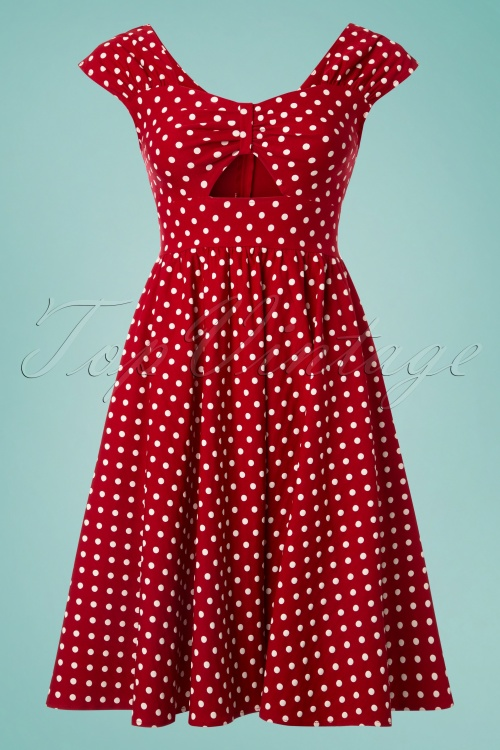 Retro Red Polka Dot Shoes