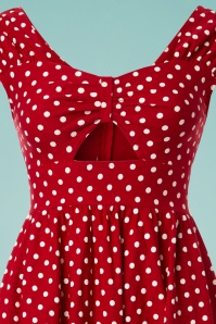 Stop Staring Red and White Polkadot Dress 102 27 24758 20180508 0001V