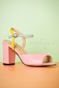 Yull Shoes Margate Pink Peeptoes 403 22 24623 16052018 010W