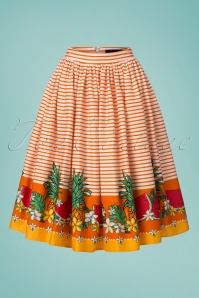 Collectif Clothing Jasmine Tropical Fruit Swing Skirt 22802 20171120 0002W