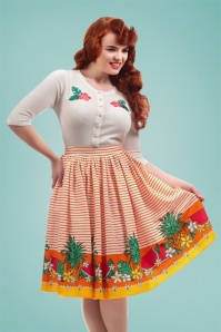 Collectif Clothing Jasmine Tropical Fruit Swing Skirt 22802 20171120 01