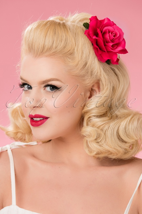 Collectif Hair Clip Pink 200 22 24765 18052018 013W