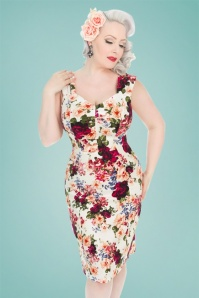 Hearts and Roses London Floral Pencil Dress 100 57 26105 20180516 1