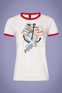 Wax Poetic Pinup Sailor Tee 111 50 26006 20180515 0001w