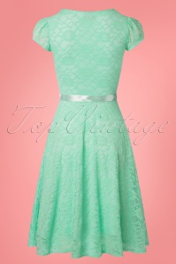 Vintage Chic Mint Lace Swing Dress 102 40 25770 20180508 0003w