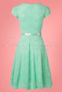 Vintage Chic Mint Lace Swing Dress 102 40 25770 20180508 0003w