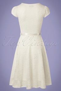 Vintage Chic Cream Lace Dress 102 51 25771 20180508 0003w