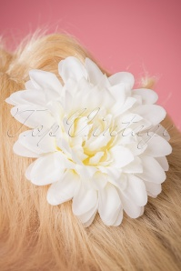 Collectif Hair Clip White 200 50 24766 18052018 027W