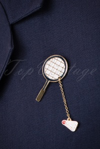 Collectif Badminton Brooch 340 59 24759 18052018 029aW