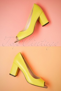 Yull Shoes Lemon Peeptoe Westbourne Heels 403 80 24620 16052018 014W