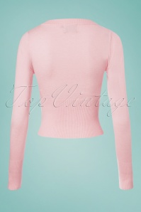 Dancing Days by Banned Dolly Cardigan in Pink 140 80 25912 20180516 0002