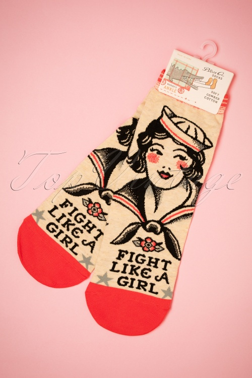 Cortina Fight like a girl Ankle Socks 179 59 26013 23052018 003W