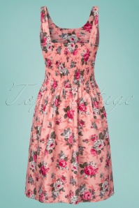 Vixen Ethal Pink Floral Dress 106 29 24446 20180516 0002w