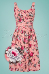 Vixen Ethal Pink Floral Dress 106 29 24446 20180516 0001wv