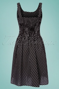 Vixen Ethal Black Polkadot Dress 106 14 24448 20180516 0003w