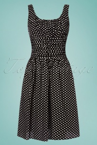 Vixen Ethal Black Polkadot Dress 106 14 24448 20180516 0001w