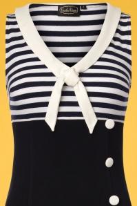 Voodoo Vixen Vera Navy Sailor Dress 106 39 23211 20180516 0001V