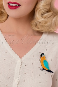 Erstwilder Corey The Macaw Brooch 340 89 26101 18052018 011W