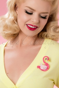 Erstwilder Francie The Flamingo Brooch 340 29 26102 18052018 018W