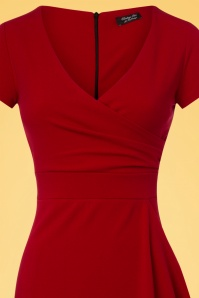 Vintage Chic Red Pencil Dress 100 20 26062 20180516 0001c