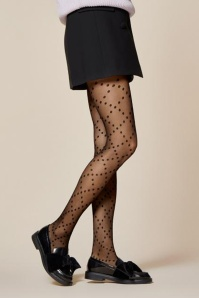Fiorella Weave Patterned Tights 171 10 26023b