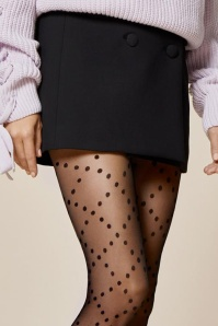 Fiorella Weave Patterned Tights 171 10 26023