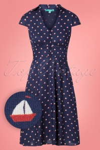 Fever Instow Sailor Shirt Dress  102 39 24236 20180529 0002W1