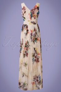 Little Mistress Cream Floral Multicolored Maxi Dress 108 57 24438 20180529 0011w